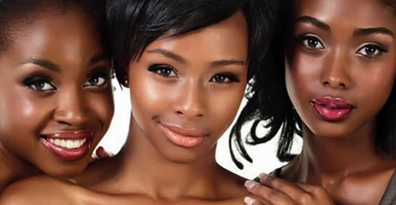 peau noire metissée